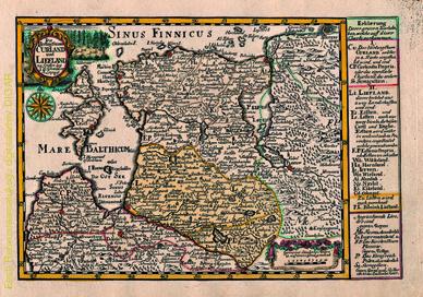 Die Hertzogthümer Curland und Liefland
