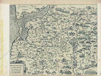 Magni Ducatus Lithuaniae, Livoniae et Moscoviae