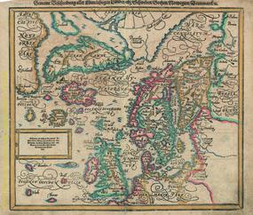 Gemeine Beschreibung aller Mittnächtigen Ländern als Schweden, Gothen, Norvegien, Dennmarck, u. Basel