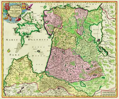 Ducatuum Livoniae et Curlandiae Nova Tabula