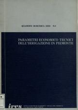 Parametri economico-tecnici dell'irrigazione in Piemonte