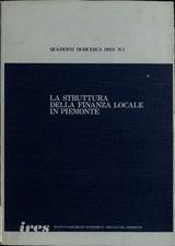 Struttura della finanza locale in Piemonte