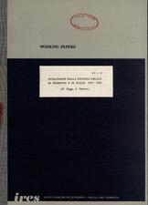 Evoluzione nella finanza locale in Piemonte e in Italia 1977-1981