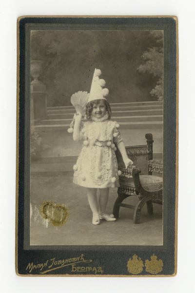 Девојчица са лепезом