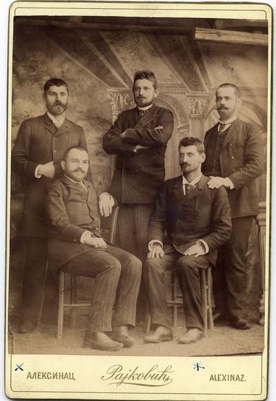 Браћа Ђорђевић са пријатељима