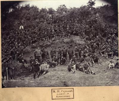 Српска војска у околини Зајечара