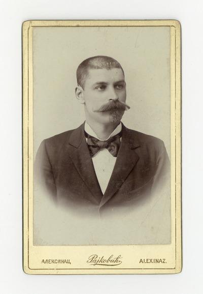 Портрет Тихомира Ђорђевића