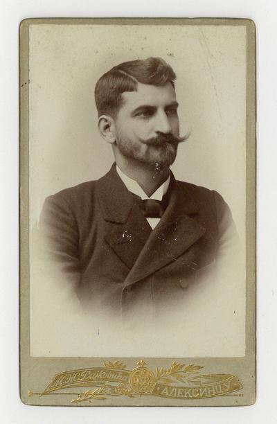 Портрет Владимира Ђорђевића