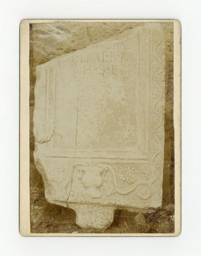 Римски надгробни споменик из села Рутевца