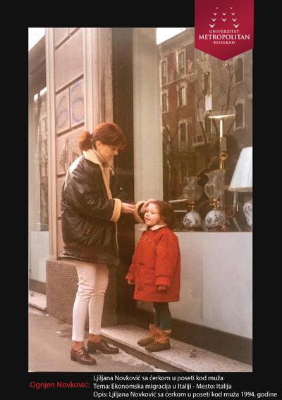 Liljana Novković sa ćerkom u poseti kod muža
