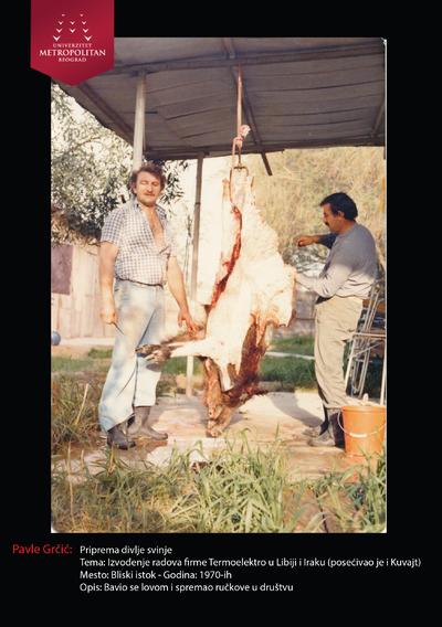 Priprema divlje svinje