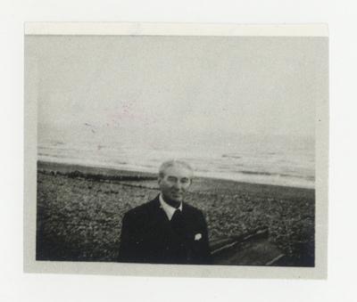 Miloš Crnjanski u Cooden Beach-u