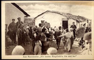 Aus Macedonien Wir tanzen Ringelreih'n hin und her