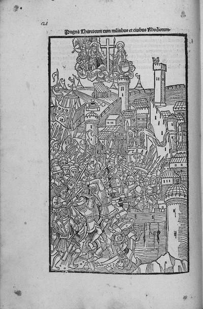 Rhodiorum Historia (1480-1489)