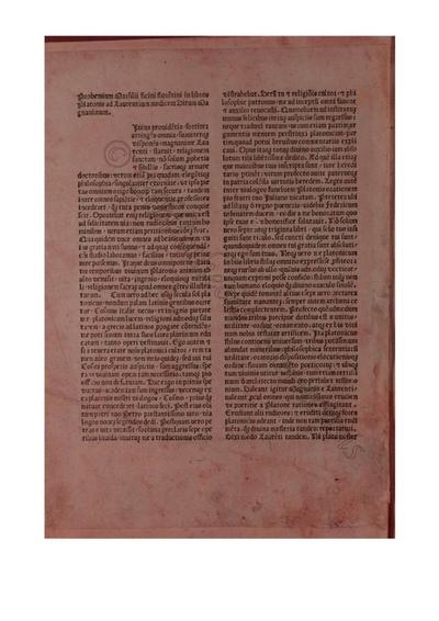 Opera a Marsilio Ficino latine translata tom. I
