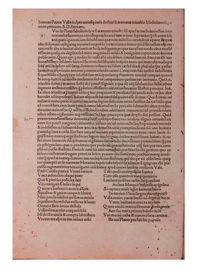 Comoediae (cum interpr. Iohannis Petri Vallae et Bernardini Saraceni)