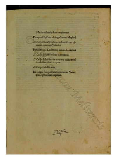 Opera (Com. Laurentius Valla)
