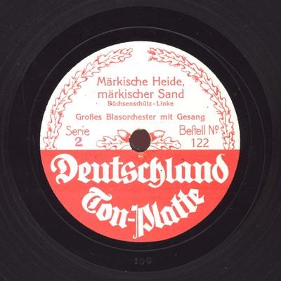 Märkische Heide, märkischer Sand