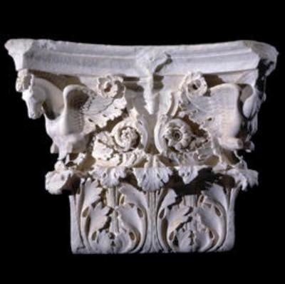 Corinthian capital of a pilaster