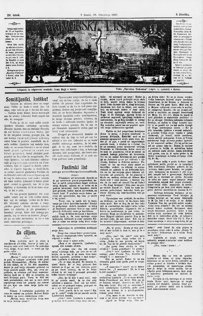 Primorski list; Poučljiv list za slovensko ljudstvo na Primorskem 1907 02 28
