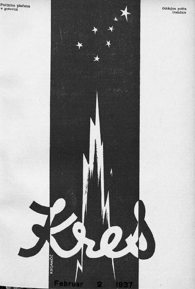 Kres; glasilo slovenskih fantov 1937