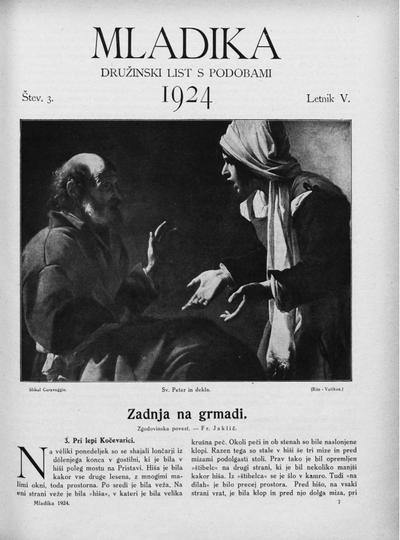 Mladika; družinski list 1924