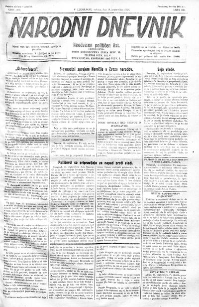 Narodni dnevnik 1926 09 11