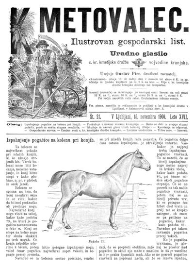 Kmetovalec: gospodarski list s podobami 1900 11 15