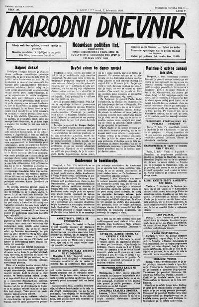 Narodni dnevnik 1928 02 07