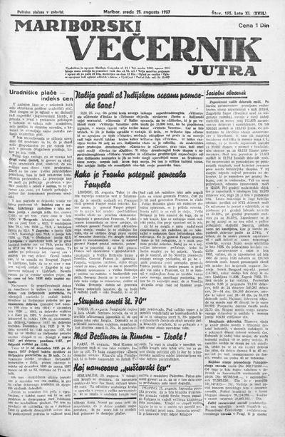 Mariborski večernik Jutra 1937 08 25