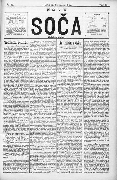 Nova Soča 1892 10 21