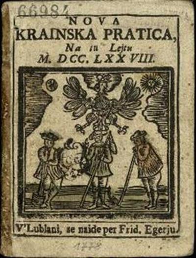 Nova crainska pratica; Na tu lejtu 1778