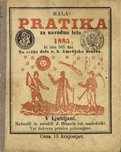 Mala pratika; Za navadno leto 1885
