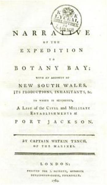 A narrative of the expedition to Botany Bay; with an account of New South Wales, its productions, inhabitants, &c. To which is subjoined, a list of the civil and military establishments at Port Jackson