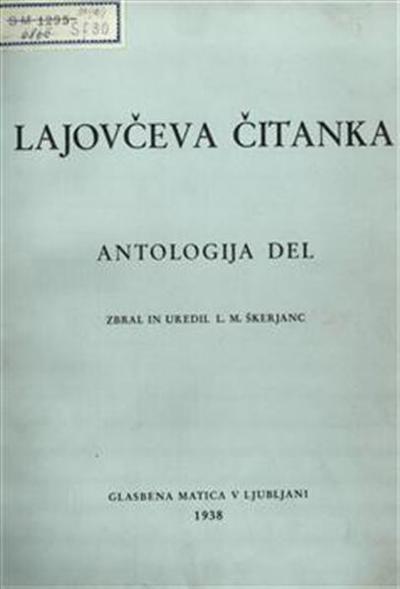 Lajovčeva čitanka; antologija del