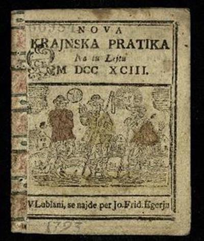 Nova crainska pratica; Na tu lejtu 1793