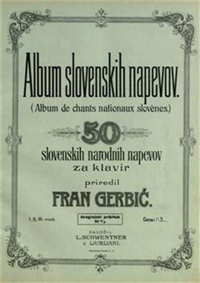 Album slovenskih napevov. Zvezek 2; 50 slovenskih narodnih napevov za klavir; Album de chants nationaux slovenes