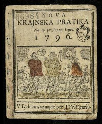 Nova crainska pratica; Na to preßtopnu lejtu 1796