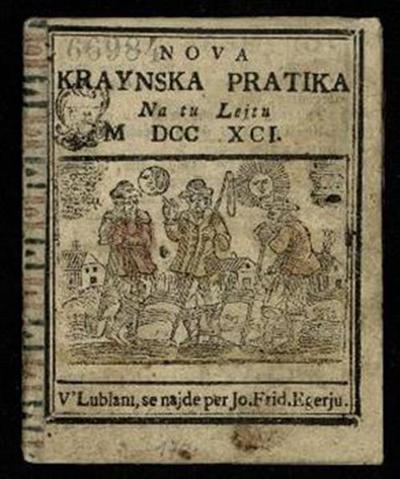 Nova crainska pratica; Na tu lejtu 1791