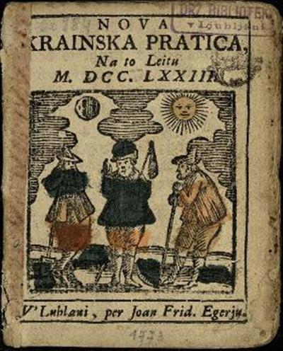 Nova crainska pratica; Na to leitu 1773