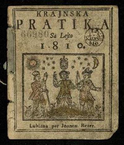 Nova crainska pratica; Sa lejto 1810