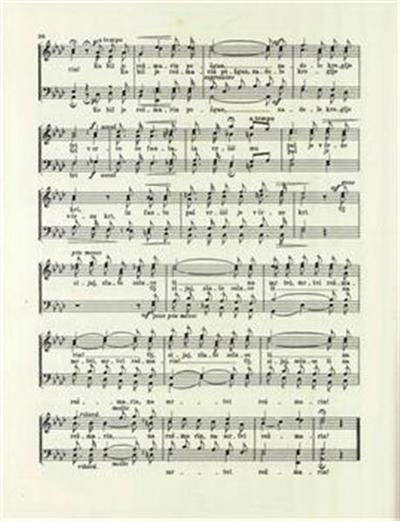 Pastir; moški zbor s tenorskim in baritonskim samospevom