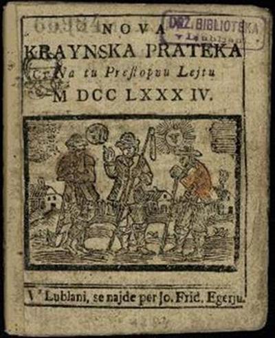 Nova crainska pratica; Na tu preßtopnu lejtu 1784