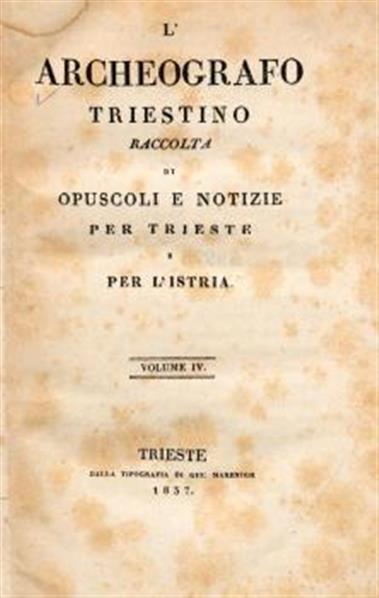 Archeografo Triestino