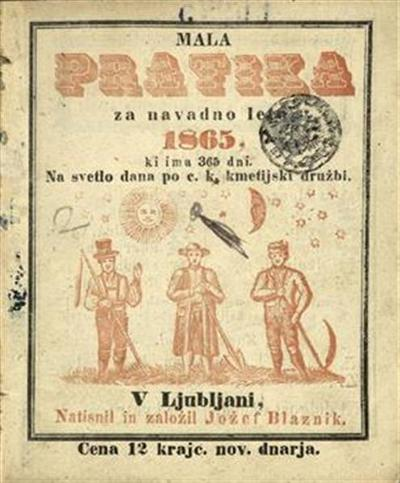 Mala pratika; Za navadno leto 1865