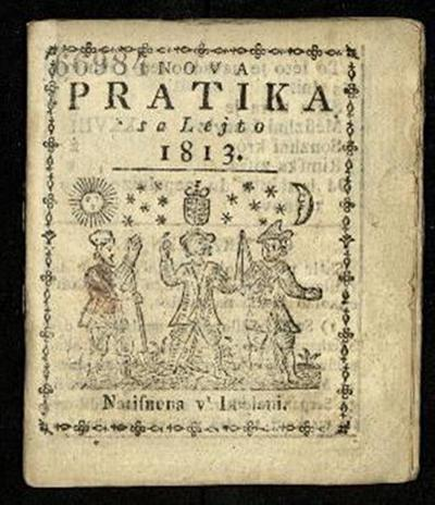 Nova crainska pratica; Sa lejto 1813