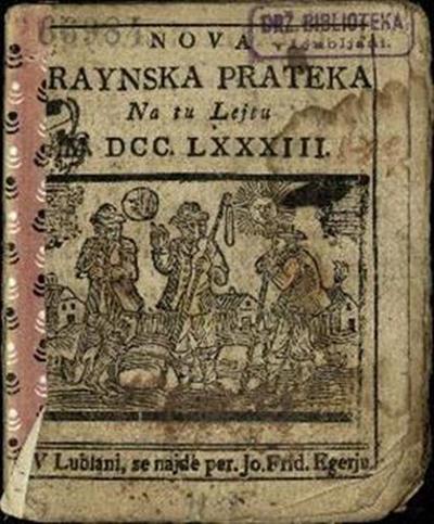 Nova crainska pratica; Na tu lejtu 1783