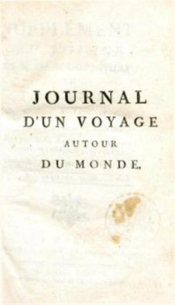 Supplément au voyage de L. Banks Ant. comte de Bougainville; Supplément au voyage de M. de Bougainville; ou Journal d'un voyage autour du monde, fait par MM. Banks [et] Solander, Anglois, en 1768, 1769, 1770, 1771.