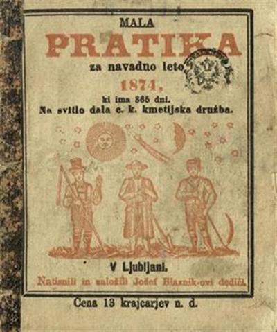 Mala pratika; Za navadno leto 1874