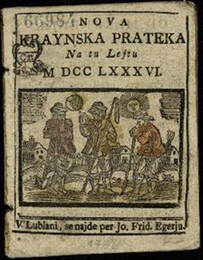 Nova crainska pratica; Na tu lejtu 1786